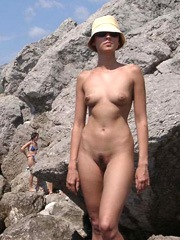 Gf shows her naked body in public at..
