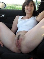Slut showing everything loves cock and..