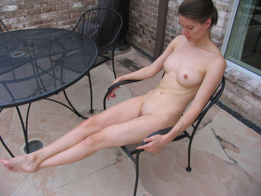 wife naked outside My